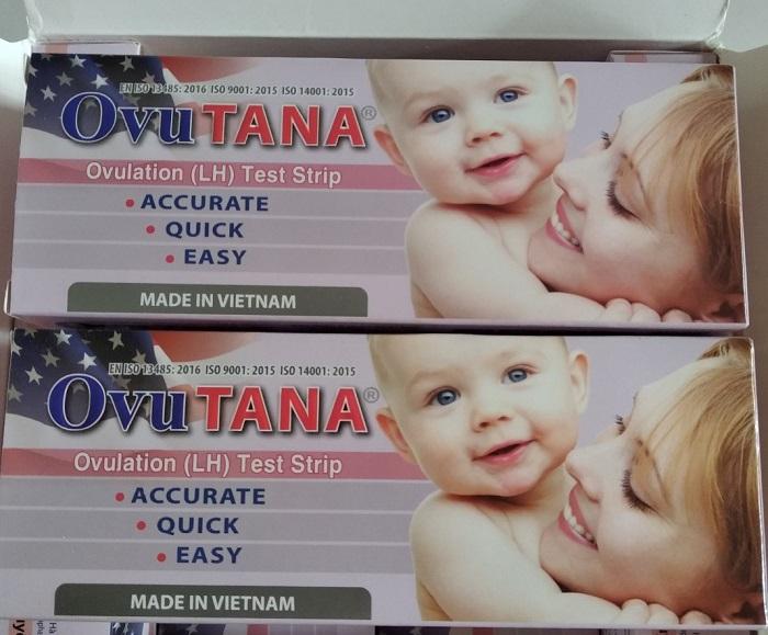 OvuTana - Que thử rụng trứng được tin cậy