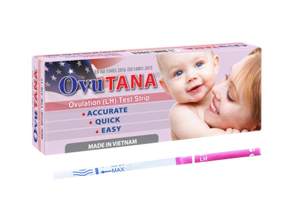 Phát hiện ngày rụng trứng chính xác với que thử rụng trứng Quick Tana