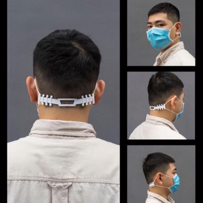 đeo khẩu trang không đau tai